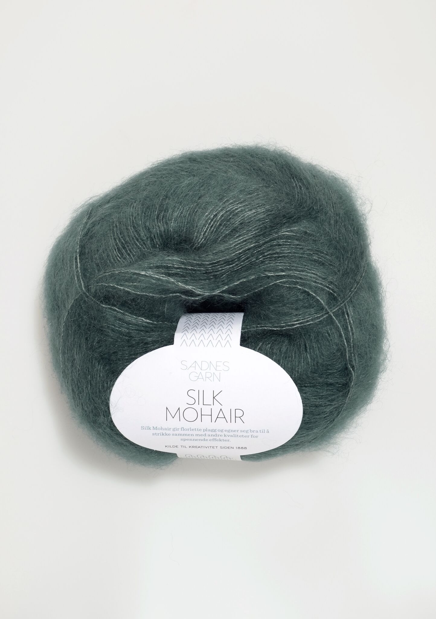 Sandnes Silk Mohair petroleum