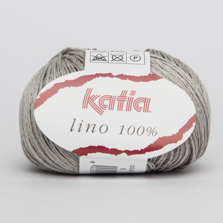 Lino 100 % perlegrå