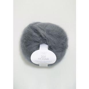 Sandnes Silk Mohair grå