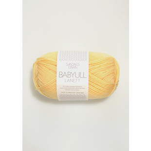 BabyLanett lys gul