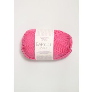 BabyLanett mørk rosa