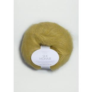 Sandnes Silk gulgrøn