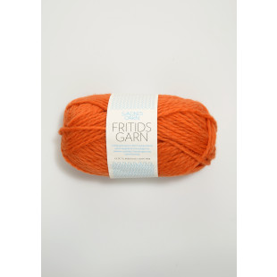 Fritidsgarn orange