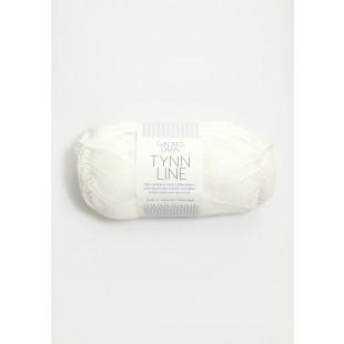 Tynn Line hvid