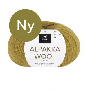 Alpakka wool sennep