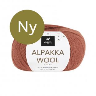 Alpakka wool kobber
