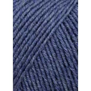 Merino 120 Jeansblå Meleret