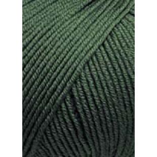 Merino 120 Mørkegrøn Meleret