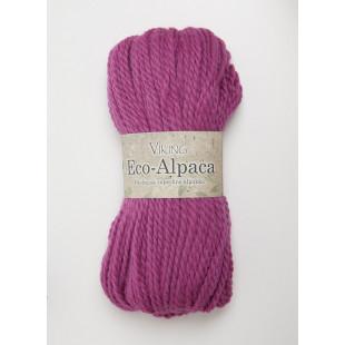 Eco Alpaca mørk rosa
