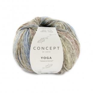 Yoga Blue Brown