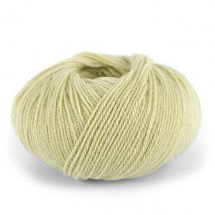 Alpakka wool bleg gul