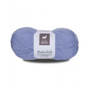 Baby Silk lys blå