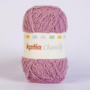 Chantilly mørk gammlrosa
