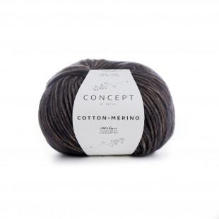 Cotton-Merino beige black