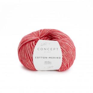 Cotton-Merino rød