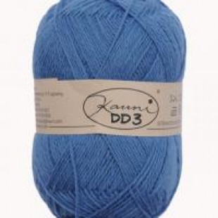 Kauni ensfarvet almue blå
