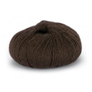Sterk mørk brun