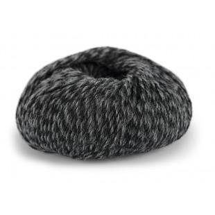 Sterk grå/sort meleret