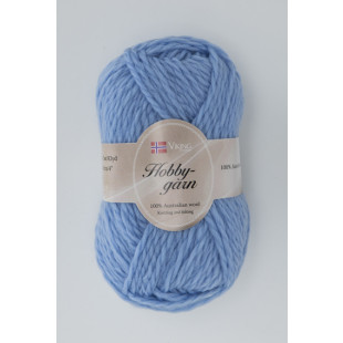 Hobby lys blå