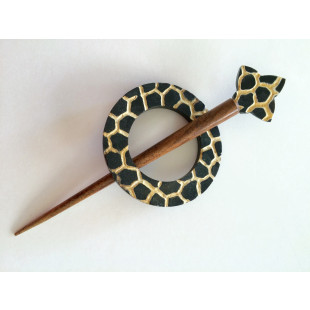Sjal pin giraf