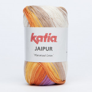 Jaipur beige gul orange