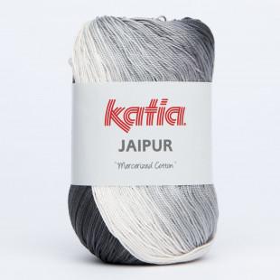 Jaipur hvid grå sort