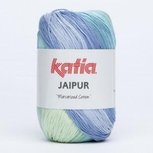 Jaipur grøn blå