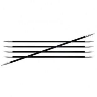 KnitPro Karbonz - Strømpepinde str. 4