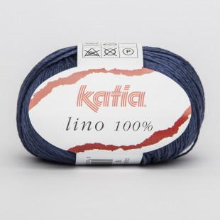 Lino 100 % blå