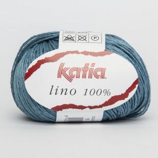 Lino 100 % tyrkis