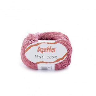 Lino 100% rosa