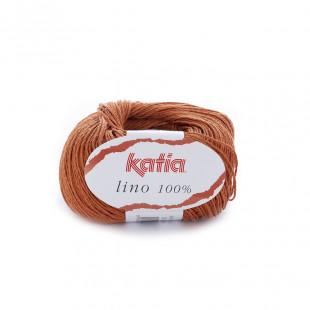 Lino 100% orange