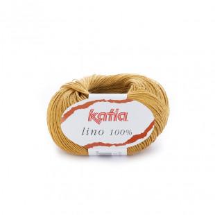 Lino 100% gul