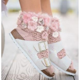 Pink Roses Birkensocks