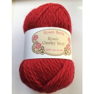 Rosa's chynky rød
