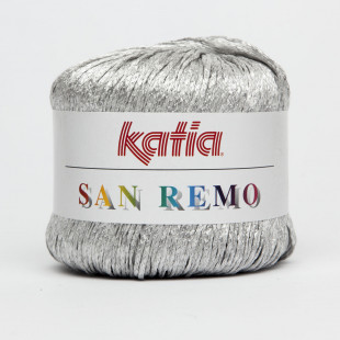 San Remo sølv grå