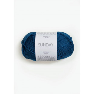 Sunday Ink Blå