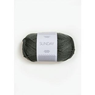Sunday Støvet Olivengrønn