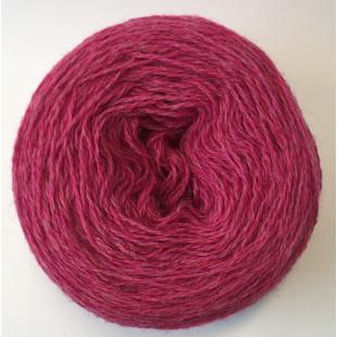 Rosa's tynde uld mørk rosa
