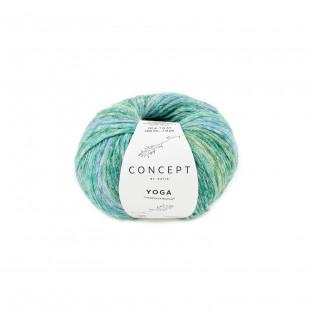Yoga Green blue